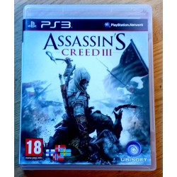 Playstation 3: Assassin's Creed III (Ubi Soft)