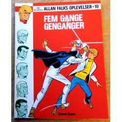 Allan Falks Oplevelser - Nr. 10 - Fem gange genganger