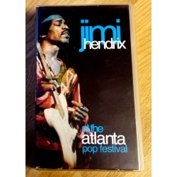 Jimi Hendrix at the Atlanta Pop Festival (VHS)