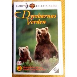 Dyrebarnas Verden Nr. 3 - Brunbjørner, bevere, isbjørner og pingviner (VHS)