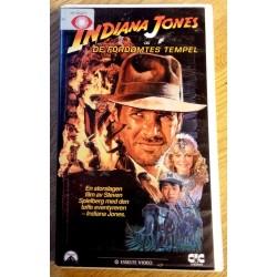 Indiana Jones og De fordømtes tempel (VHS)
