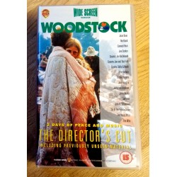 Woodstuck - 3 Days of Peace and Music - The Director's Cut (2 x VHS)
