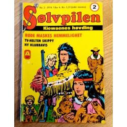 Sølvpilen: 1974 - Nr. 2 - Røde Maskes hemmelighet