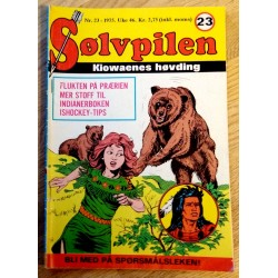 Sølvpilen: 1975 - Nr. 23 - Flukten på prærien