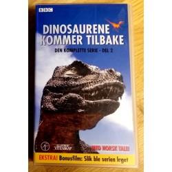Dinosaurene kommer tilbake - Den komplette serie - Del 2 (VHS)