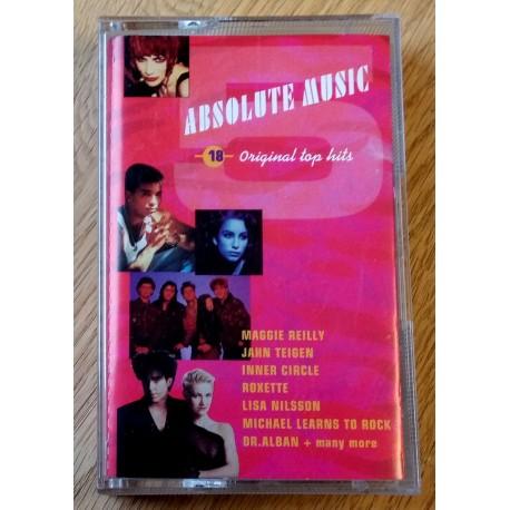 Absolute Music 18 (kassett)