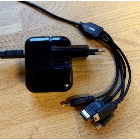 GameStop AC Adapter Model U8005GS - Strømforsyning/lader til PSP, GBA, DS