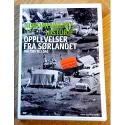 Nordmennenes egen historie - Opplevelser fra Sørlandet fra 1905 til i dag (DVD)