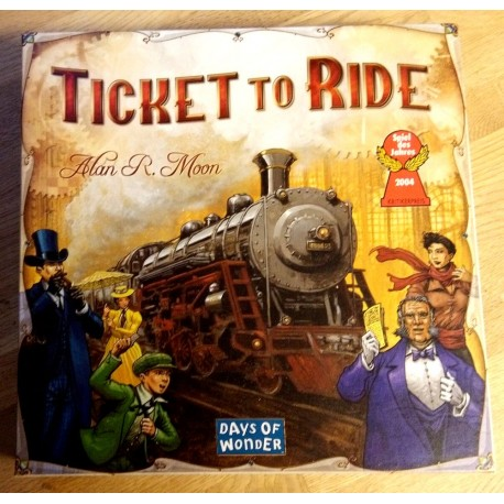 Ticket to Ride - USA - Days of Wonder (brettspill)