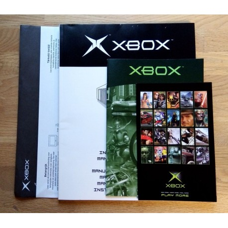 Xbox: Original dokumentasjon - Manual etc.