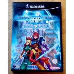 Nintendo GameCube: Phantasy Star Online I & II (SEGA)