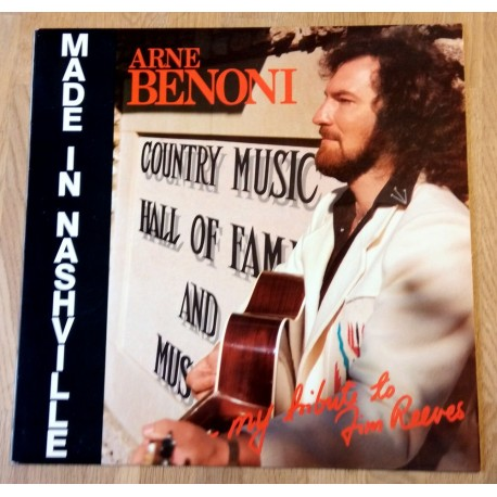 Arne Benoni: My Tribute to Jim Reeves (LP)