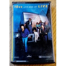 10cc - Live and Let Live (kassett)