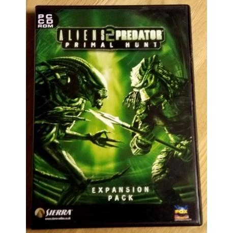 Aliens versus Predator 2 - Primal Hunt Expansion Pack (Sierra)