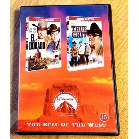 The Best of the West: El Dorado og True Grit (2 x DVD)