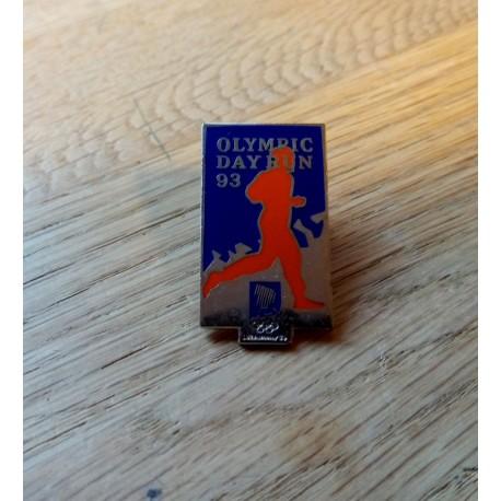 Pin: Lillehammer 1994 - Olympic Day Run 93