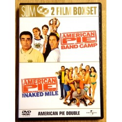 2 x American Pie - Band Camp & The Naked Mile (DVD)