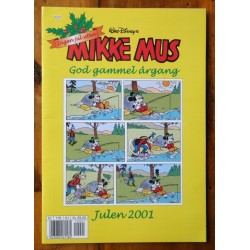 Mikke Mus: God gammel årgang- Julen 2001