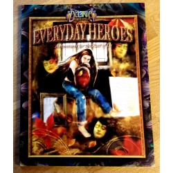 Deliria Sagabooks - Everyday Heroes - Adventures for the Rest of Us - Signert - Rollespill - RPG