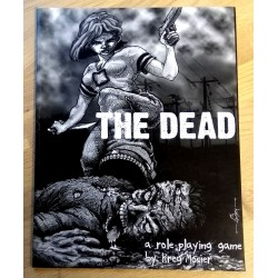 The Dead - A Role Playing Game by Kreg Mosier - Signert - Rollespill - RPG
