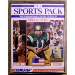 The Sports Pack: American Football, Baseball & Basketball