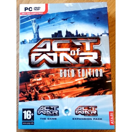Act of War - Gold Edition (Atari)