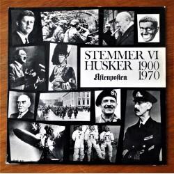 Stemmer vi husker 1900- 1970 (LP)