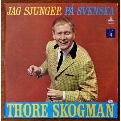 Thore Skogman- Jag sjunger på svensk (LP)