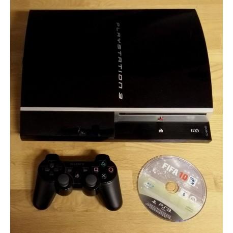 Playstation 3: Komplett konsoll med FIFA 10