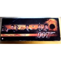 The James Bond 007 Collection - 18 filmer på VHS