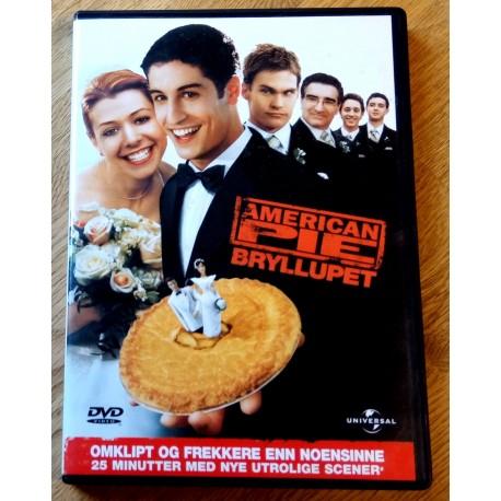 American Pie - Bryllupet - Omklipt og frekkere enn noensinne (DVD)
