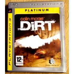 Playstation 3: Colin McRae Dirt (Codemasters)