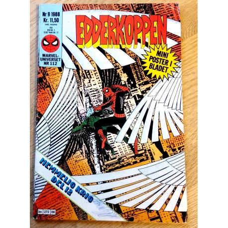 Marveluniverset: 1988 - Nr. 9 - Edderkoppen - Med poster (112)