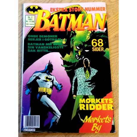 Batman: 1991 - Nr. 7 - Mørkets ridder