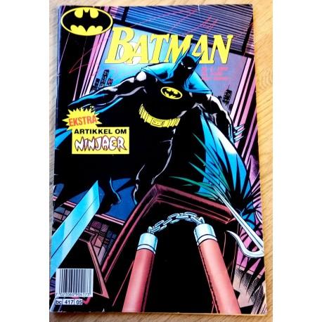 Batman: 1990 - Nr. 5 - Artikkel om ninjaer