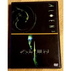 Alien 3 og Alien Resurrection (DVD)