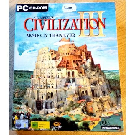 Sid Meier's Civilization III (Infogrames)