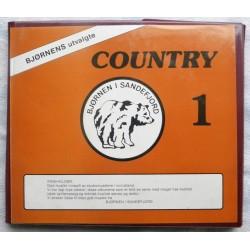 Country 1- Mappe med seks kassetter