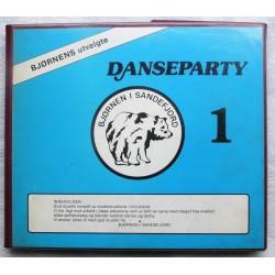 Danseparty 1- Seks kassetter i mappe