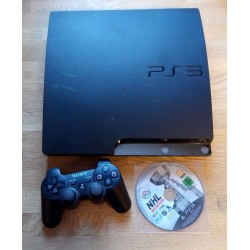 Playstation 3 Slim: Komplett konsoll med NHL Legacy Edition
