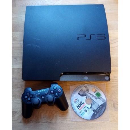 Playstation 3 Slim: Komplett konsoll med NHL Legacy Edition