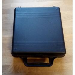 Sort koffert til kassetter