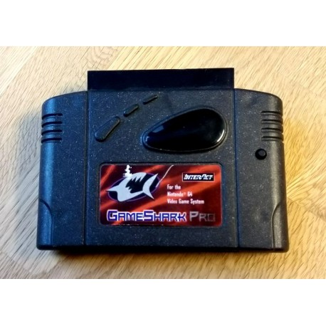 Nintendo 64: GameShark Pro - For the Nintendo 64 Video Game System