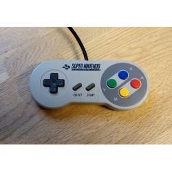 Super Nintendo SNES: Original håndkontroll -