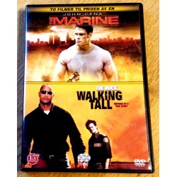 2 x DVD: The Marine og Walking Tall (DVD)