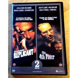 2 x Thriller: The Replicant og The 4th Floor (DVD)