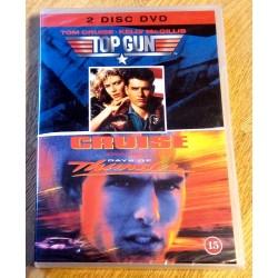 2 x Tom Cruise - Top Gun og Days of Thunder (DVD)