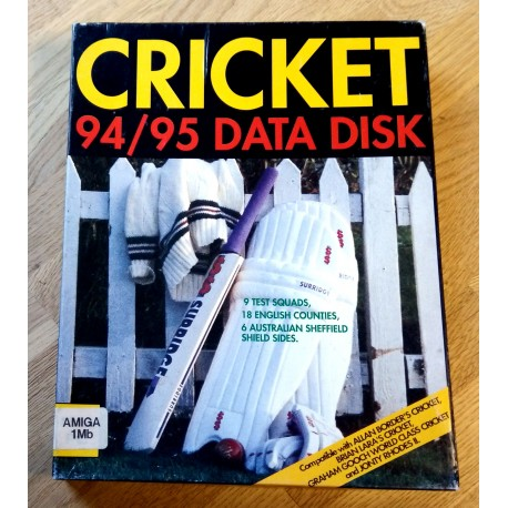 Cricket 94/95 Data Disk (Amiga)
