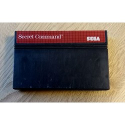 SEGA Master System: Secret Command (cartridge)