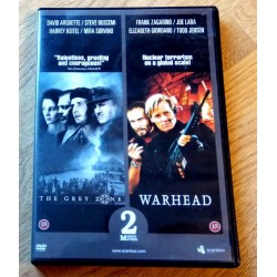 2 x DVD - The Grey Zone og Warhead (DVD)